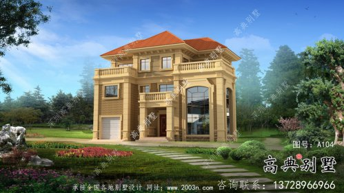 三层法式风格豪华别墅