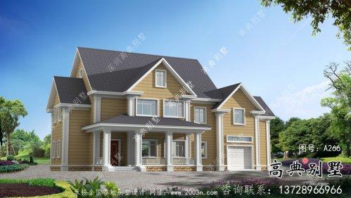 别具一格大气两层别墅住宅设计图纸