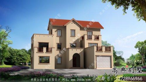 全套农村欧式三层别墅自营住宅设计效果