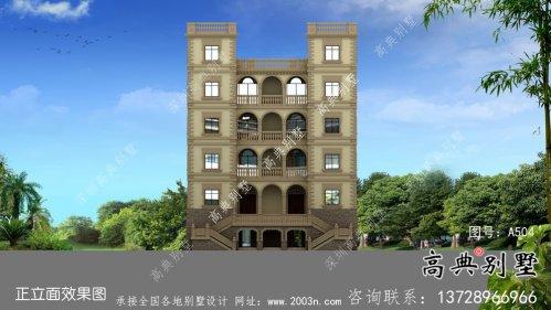 六层豪华大气法式风格,西式城堡别墅