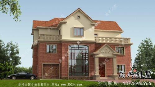 农村最受欢迎的别墅欧式风格别墅设计