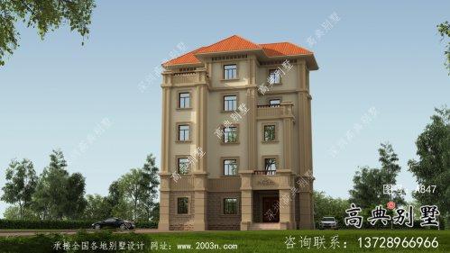 全套五层欧式豪华大型别墅自建效果工