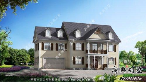 大气欧式风格,美式别墅别墅设计效果