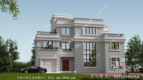 四层复式别墅设计图大全