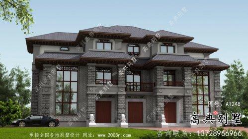 农村清新实用的中式别墅设计方案