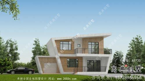 整套二层现代简约农村别墅设计图纸