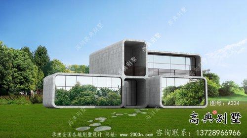 漂亮美观二层新农村建筑图(含结构图)
