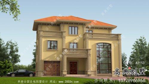 最新欧式别墅三层设计图纸