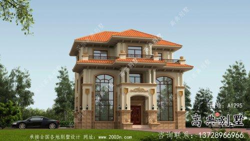 复式欧式风格别墅方案