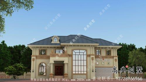 全套乡村二层欧式别墅设计效果图