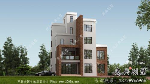 农村现代风格五层别墅设计图及施工图