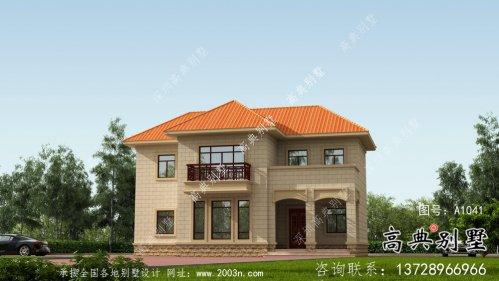 简约实用欧式风格别墅设计图及效果图