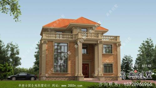 农村欧式三层复式别墅设计图纸及平面设计图