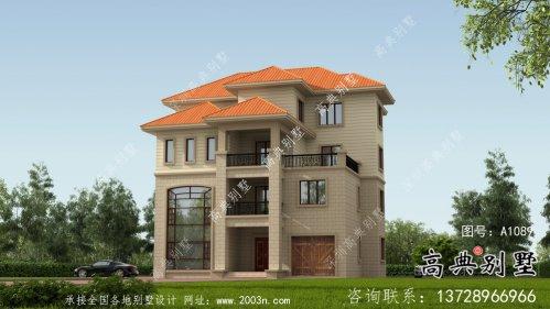 乡村125平米小别墅设计图及设计效果图