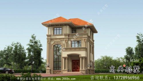 农村别墅小洋楼设计图及设计效果图