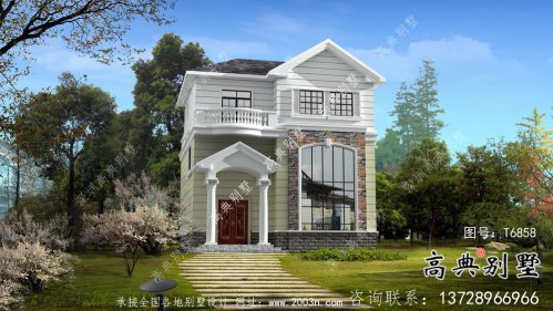最新款欧式风格别墅设计图纸及效果图