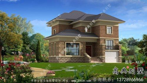 简欧二层别墅自建设计图纸