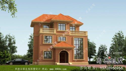 详细农村别墅设计图及效果图一套