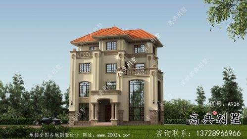 欧式四层别墅设计图纸平面图