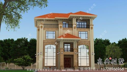 雍容华贵意大利风格别墅设计图纸与效