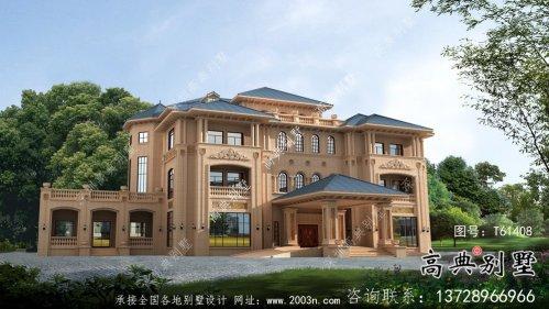 大型意大利风格舒适明亮别墅设计方案