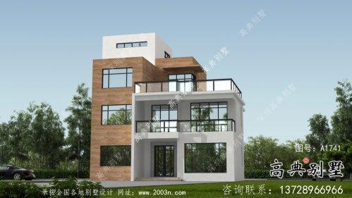 现代舒适三层小别墅设计图纸