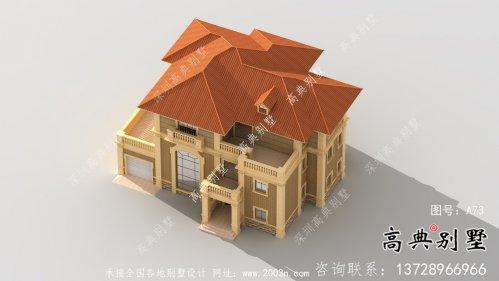简单实用的别墅设计图与实景效果图