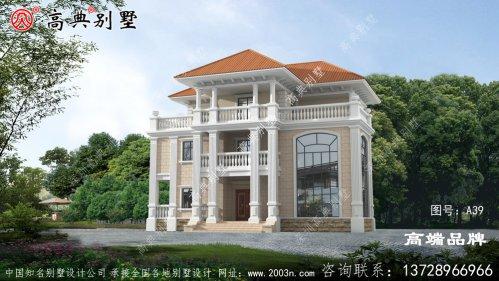 三层自建别墅设计图纸,房型經典,高