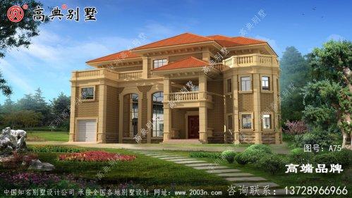 法式风格别墅设计图纸
