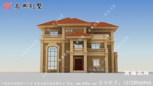 豪华别墅设计图