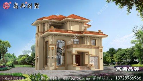 欧式三层自建住宅设计图