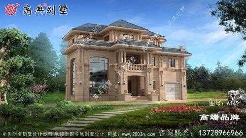 高端大气自建别墅设计图