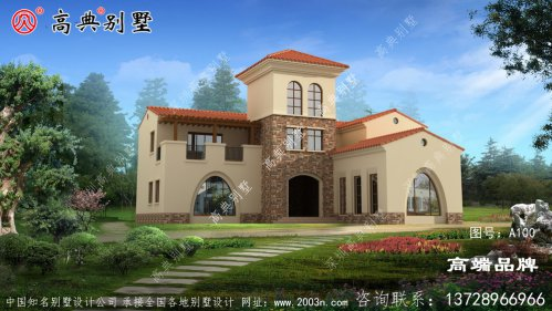 人气值极高的二层建造小别墅设计图