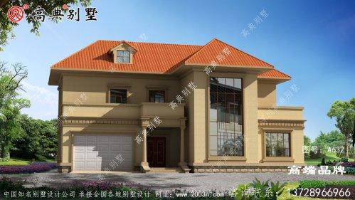 漂亮两层别墅设计图