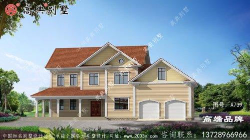 自建二层别墅设计图