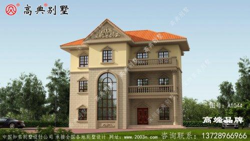 欧式风格别墅效果图