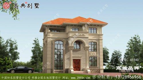 三层别墅设计图