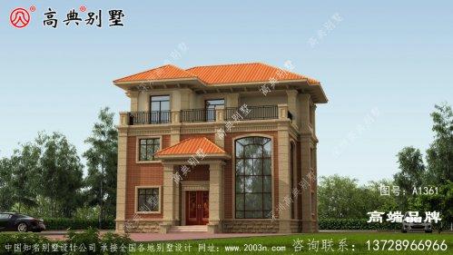 房屋三层设计图
