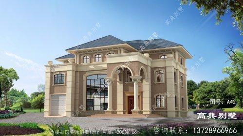 三层复式别墅外观设计