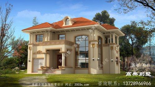 与众不同的两层别墅效果图