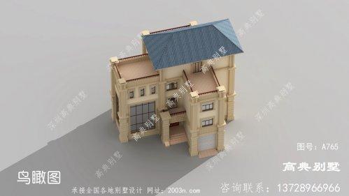 四层豪宅设计图欧式古典别墅户型