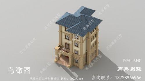 奢华四层农村别墅设计图
