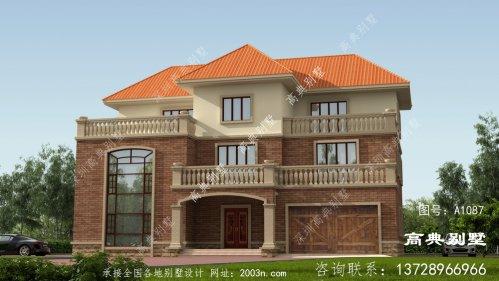 简欧三层别墅的住宅设计图