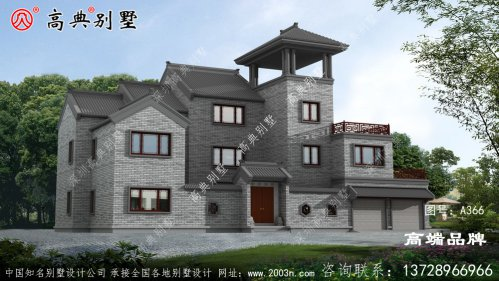新中式院子别墅设计图纸