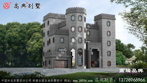 韵味十足的中式城堡别墅