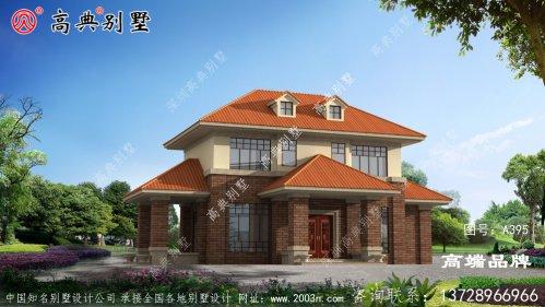 两层欧式风格别墅