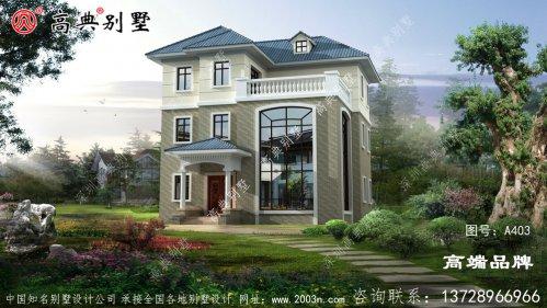 欧式风格别墅设计图