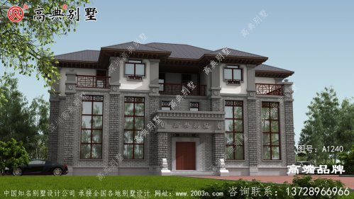 豪华复式中式别墅