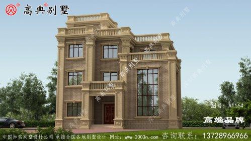 豪宅三层别墅设计图