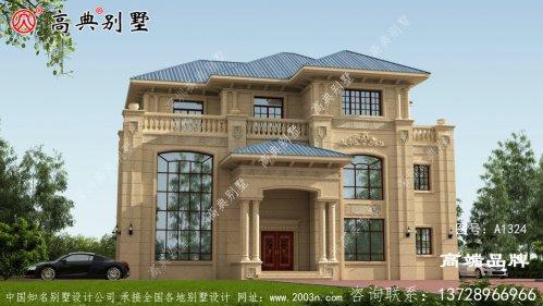 三层石材别墅设计图纸